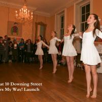 Dancing at 10 Downing Street